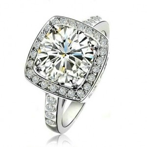 Do Swarovski Crystals Make Good Engagement Rings Fake Diamond