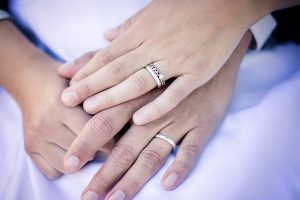 Married Couple Wedding Rings